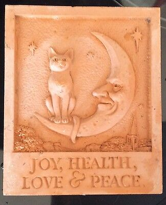 latex mould for making cat plaque