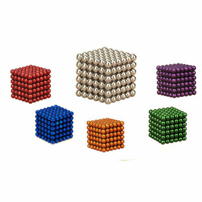 216Pcs 3mm Magnet Balls Magic Beads 3D Puzzle Ball Sphere Magnetic Kids Xmas Toy