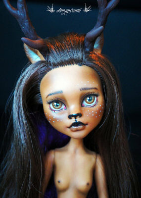 doll monster high custom ooak Fawn / Faune