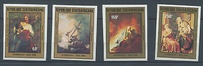 3643. Republic Of Central Africa. Art. Painting. MNH.