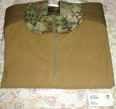Platatac Kryptek CUTS Shirt Mandrake Special Projects NEW Airsoft Christmas Gift