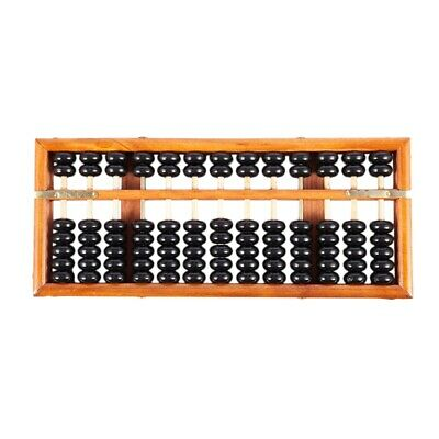 Vintage-Style Chinese Wooden Abacus, Chinese Lucky Calculator B1B4 R3Q6
