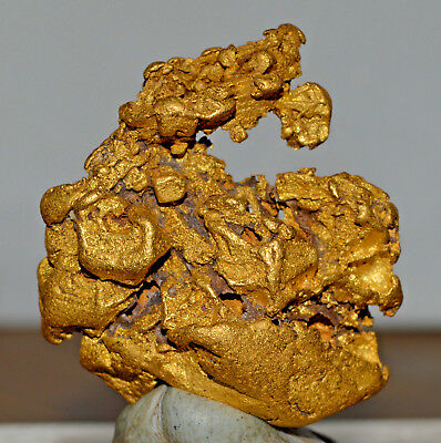 CRYSTALLINE GOLD NUGGET NATURAL 78.52 grams PalmerRiver Goldfields QLD Australia