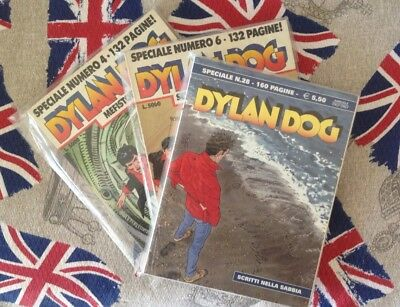 """LOTTO """"DYLAN DOG SPECIALE"""" Nn. 4-6-28"""