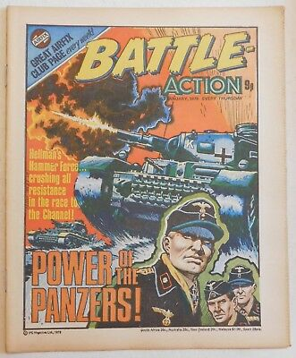 BATTLE - ACTION Comic - 7th January 1978