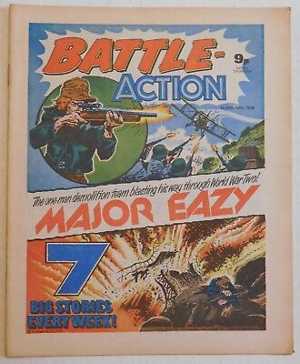 BATTLE - ACTION Comic - 14th January 1978