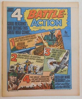 BATTLE - ACTION Comic - 11th March 1978