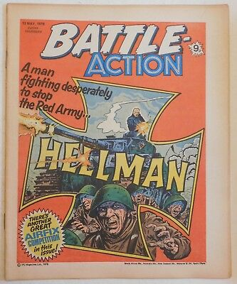 BATTLE - ACTION Comic - 13th May 1978