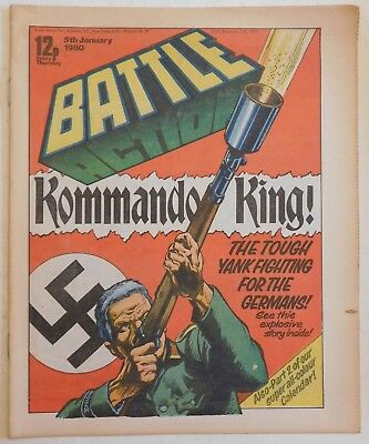 BATTLE - ACTION Comic - 5th January 1980