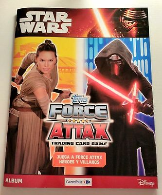Cromos Star Wars Force Attax + Rogue One (colección Carrefour)