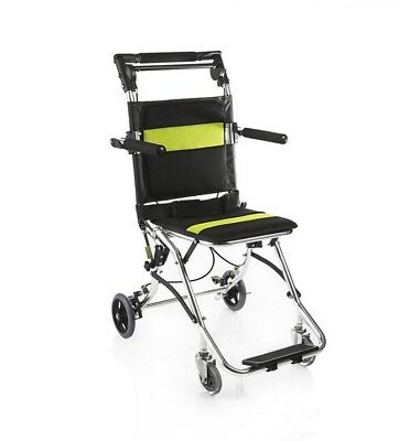 Folding Wheelchair 2000 Aluminum Alloy Hand Push Wheelchair for Elderly Disabled