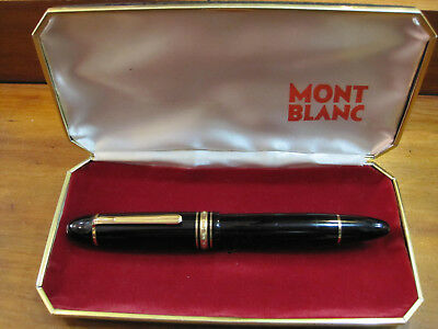 *MONTBLANC MEISTERSTUCK 149* VINTAGE 1960's - FOUNTAIN PEN - PERFECT WITH BOX