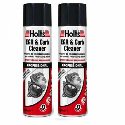 2xHolts EGR Valve & Carb Cleaner Spray AirIntake Carburettor Clean Petrol/Diesel