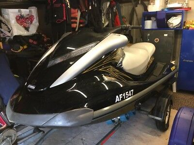 Yamaha FX160 High Output Jet Ski - 2007 Only 70 hours of use - With Extras Inc.