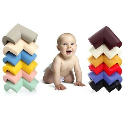 1x Safe Cushion Baby Proof Table Corner Guard Protector Furniture (Random Color)