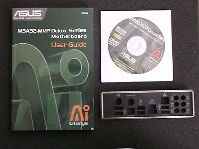 ASUS m3a32-mvp Deluxe Manuale, Pannello , CD