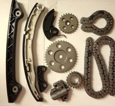 Timing Chain Kit Suit Mazda 3 6 CX-7 2.3L MPS TURBO L3K9 with Camshaft VVT Gear