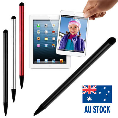 2 in1 Touch Screen Pen Stylus Universal For iPhone iPad Samsung w/ High 0.7*12CM