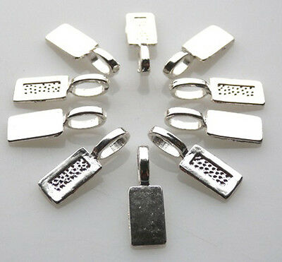 New!!! Wholesale 100 Bails - Glue On Pendants - Scrabble Etc. Free Fast Shipping