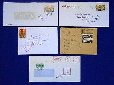 "1970's & 1990's Malta -""T"" Cancels-Postage Dues-P.O Stamped Crosses Karen Grech."