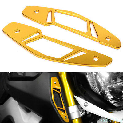 Fits For 13-16 Yamaha MT-09 CNC Air Intake Inlet Guard Protector Cover 1 Pair