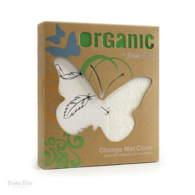 Bubba Blue Feathers Organic - Change Mat Cover