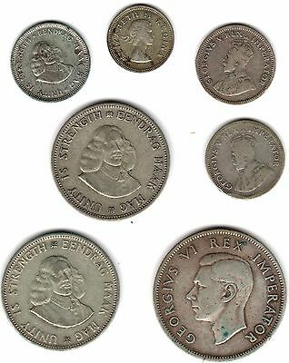 Collection Of South Africa Silver Coins***Collectors***(SA7)