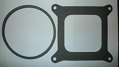 Holley 4 Barrel Square Bore Base & Air Filter Gaskets 600 650 750 850 950 Cfm