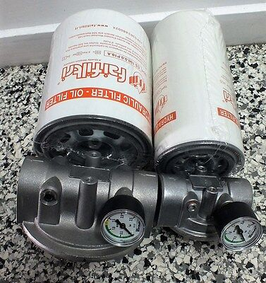 """Hydraulic Oil Spin on SUCTION SIDE Filter Assembly 3/4"""" OR 1-1/4"""" BSP  300Lt/Min"""