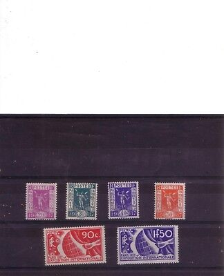 Lot Timbres France Neufs* Serie Complete Annee 1936