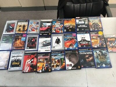 Joblot Of Ps2 Games Hitman 2, Tekken Etc
