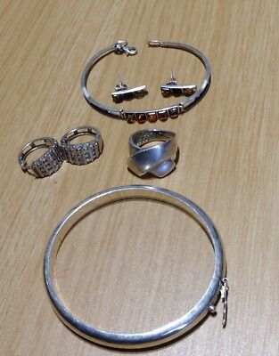 36 grams Job Lot Sterling Silver 925 Jewelry,,Scrap or Not