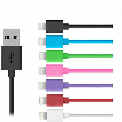 1M/3ft 9 Colors USB Sync Data Cable Charger Cord For iPhone 5 5S 5C 6 6plus