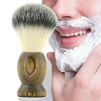 Barber Salon Shaving Brush for Man Shave Tools Cosmetic Tool Wood Handle