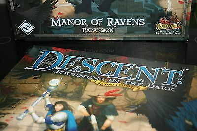 Descent - Manor Of Ravens - Rules And Quest Guide