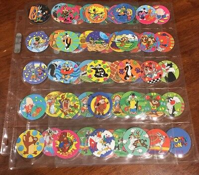 Looney Tunes Tazo Set First Series 1995 Complete Set Of 60