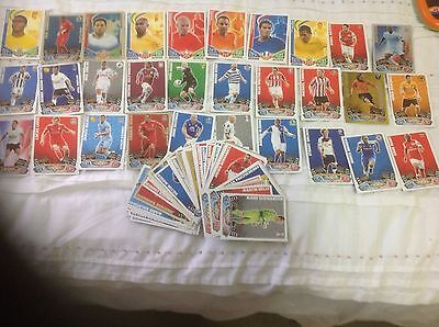 MATCH ATTAX TRADING CARD GAME ENGLISH SOCCER FOOTBALL COLLECTABLE X 83 Cards