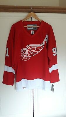 NHL Detroit Redwings Ice Hockey Shirt Jersey
