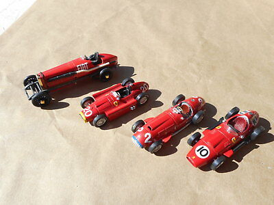 Lotto 4 Auto - 1/43 - Brumm (4496)