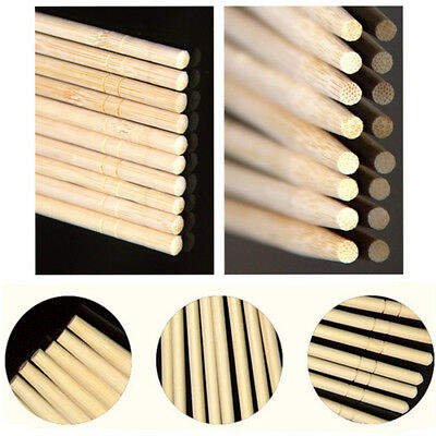 1/10/20/50Pairs Bamboo Wooden Thick Chinese Chopsticks Independent Packing