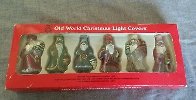 Old world Christmas light covers american