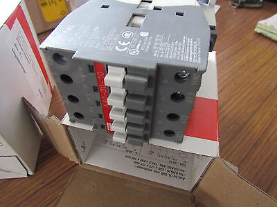 ABB A Series Controlled Contactor A Line A40 3 Pole, 60A, 18.5 kW ABB 4460146