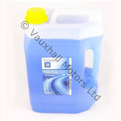 GENUINE Vauxhall 5L Screen Wash Concentrate Winter Summer - 93165266