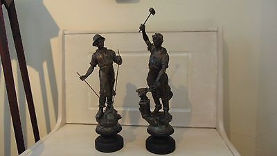 Spelter Figurines