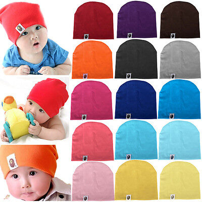72b281cee9f ... info for 46400 f1fb8 Unisex Cotton Beanie Hat For New Born Kid Child  Baby BoyGirl Soft ...
