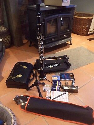 Excellent Job Lot - Buffet B12 Clarinet with Spares and Accessories