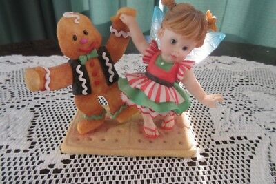 Fred and Ginger  Fairie~ Enesco~ My Little Kitchen Fairies with Box # 4005698