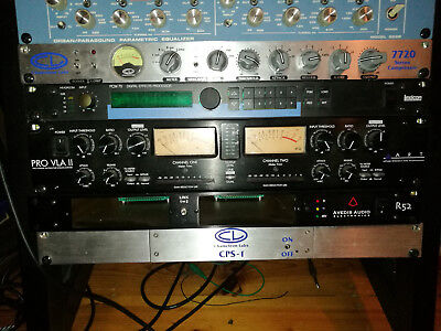 Chameleon Labs 7720, SSL-style Stereo Compressor + CPS-1 Power Rack