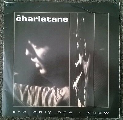 THE CHARLATANS~'The Only One I Know'~VINYL, ROCK, INDIE, SINGLE, 45 RPM, POP,