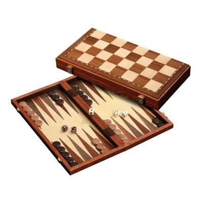 chess-backgammon-draughts-set - Magnetic - Field 43 mm